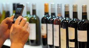 wine & cell phone